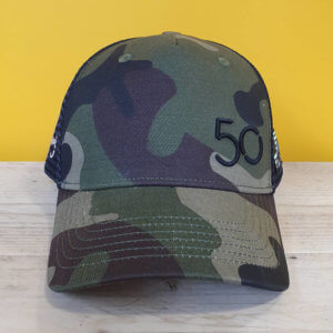 Limited Edition Camo Cap designed by Joey Nobody