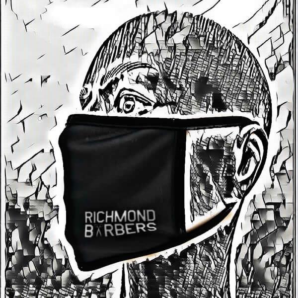 richmond barbers mask